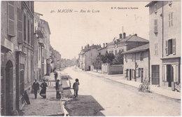 71. MACON. Rue De Lyon. 40 - Macon