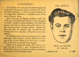CPA - Jòrgi Reboul (Georges Reboul En Français) Est Un Poète Occitan Né Le 25.2.1901 à Marseille Et Mort Le 19.6.1993 - Ecrivains