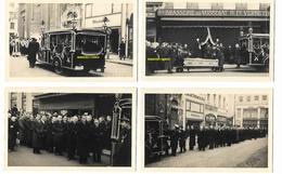 Post Mortem - Enterrement à Bruxelles - Brasserie Du Vossegat ( Lot De 6 Photos ) 13 X 9 - Photos