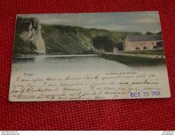 FREYR  -  La Meuse Et Le Château  -  1901 - Hastière