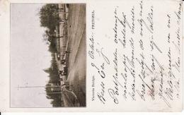 Afr. 23 Pretoria, Victoria Bridge   1904 (very Littele Crease Right Side Bottum, Klein Vouwtje Rechtsonder) - South Africa