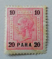 AUSTRIAN P.O. IN TURKISH EMPIRE AND LEVANT 1900 MH* - Oriente Austriaco