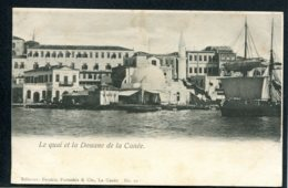 GRECE - CRETE - Le Quai Et La Douane De La Canée - Grecia