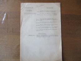 ETAT FRANCAIS LILLE,ARRAS LE 6 JUIN 1941 PREFET DU NORD ET DU PAS DE CALAIS ARRETENT LE PRIX DES FRUITS NOUVEAUX - Historische Dokumente