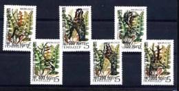 RUSSIE MARI EL, CERVIDES, 6 Valeurs Surcharges / Overprinted Sur URSS .  R708 - 1992-.... Federation