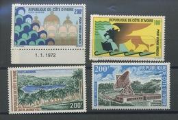 1972 Poste Aérienne  Cote 21,- Euros.   Venise, Tourisme, Télécommunications - Ivoorkust (1960-...)