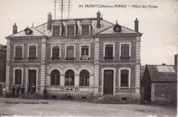 PA 91 Montceau Les Mines, H?tel Des Postes  (peu Abimé Bas) - Montceau Les Mines