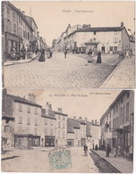 71. MACON. Place Saint-Louis. 2 Cartes - Macon