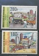 1999   Transports Autobus Bus Car Traffic Yv 960-961 ** - Ivoorkust (1960-...)