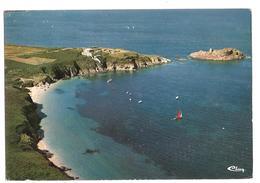 Belle Ile En Mer (56) Vue Aerienne  - Pointe Du Gros Rocher Et La Plage - Belle Ile En Mer