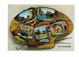 ( 72 ) LA FLECHE Multivues Palette Peintre - La Fleche