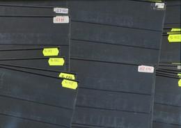 Hawid Einsteckkarten  C6  Schwarz   200  Stück     Gebraucht - Ohne Zuordnung