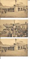 Expo De Bruxelles 1935 - 3 Cartes -Automatique - Bieren Bière LAMOT - Algemeene Tentoostelling Van Brussel 1935 -2 Scans - Wereldtentoonstellingen