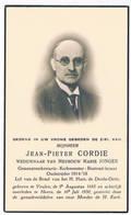 Dp. Gemeentesekretaris. Cordie Jean. Wed. Jongen Marie. ° Veulen 1885 † Heers 1950 (2 Scan's) - Religion & Esotericism