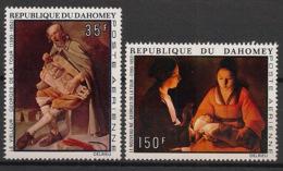 Dahomey - 1972 - Poste Aérienne PA N°Yv. 178 à 179 - De La Tour - Neuf Luxe ** / MNH / Postfrisch - Benin – Dahomey (1960-...)