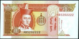 MONGOLIA - 5 Tugrik Nd.(1993) {Mongolbank} UNC P.53 - Mongolie