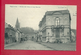 C.P. Pepinster  = Rue  NEUVE   Et  Hôtel  De Ville - Pepinster