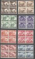 Drittes Reich , Nr 831-42 , Postfrische Viererblöcke - Deutschland