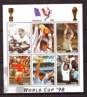 Soccer World Cup 1998 - UGANDA - Sheet MNH - 1998 – Francia