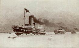 BERLIN   MAX DREBLOW STETTIN - Schiffe