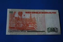 1987 BILLET DE BANK PEROU  PERU  ---Monnaies & BilletsBillet De Banque 50 - Pérou