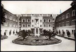 ITALIA ROMA 1962 - OSPEDALE VILLA S.PIETRO FATEBENEFRATELLI - FACCIATA PRINCIPALE E INGRESSO - CARTOLINA VIAGGIATA - Santé & Hôpitaux
