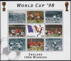 Soccer World Cup 1998 - ST. VINCENT - Sheet MNH - 1998 – Francia