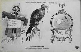 CPA - Militaria > Humoristiques - Illustrateur : AP. Jary - Reliques Impériales De La Guerre 1914 - TBE - Umoristiche