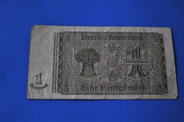 1937 Monnaies & Billet Billets  Allemagne  1933-1945 : Troisième Reich  1 MARK  Reichsbanknote - Otros