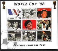 Soccer World Cup 1998 - DOMINICA - Sheet MNH** - Coppa Del Mondo
