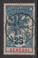 Sénégal - Yvert 37 Oblitéré GOREE - Scott#64 - Oblitérés