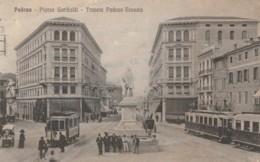 CARTOLINA VIAGGIATA 1915 PADOVA TRANVIA (TY551 - Padova (Padua)