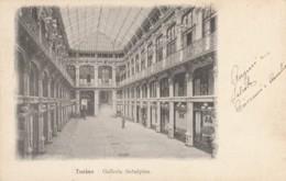 CARTOLINA VIAGGIATA PRIMI 900 TORINO GALLERIA SUBALPINA (TY552 - Italia