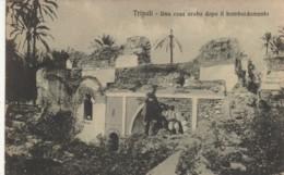 CARTOLINA VIAGGIATA 1933 TRIPOLI LIBIA COLONIE (NO BOLLO) ITALIANE (TY626 - Libia