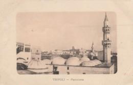 CARTOLINA VIAGGIATA PRIMI 900 TRIPOLI LIBIA COLONIE -POSTA MILITARE (TY635 - Libye