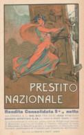 CARTOLINA NON VIAGGIATA PRIMI 900 PRESTITO NAZIONALE (TY663 - Patriotic