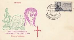 FDC ITALIA 1956 AVOGADRO (TY770 - Interi Postali