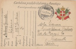 CARTOLINA FRANCHIGIA 1915 PM 115 FANTERIA (TY865 - 1900-44 Vittorio Emanuele III