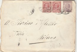 LETTERA 1924 C.50+2X10 TIMBRO ARTICOLI PER LA CASA LA RINASCENTE (TY938 - 1900-44 Victor Emmanuel III