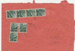 LETTERA 1946 7X1 L. TIMBRO MEOLO VENEZIA (TY952 - 1946-.. République