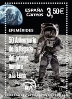 España. Spain. 2019. 50 Aniversario De La Llegada Del Primer Hombre A La Luna - 1931-Hoy: 2ª República - ... Juan Carlos I