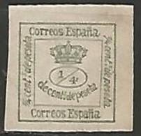 ESPAGNE / 1ere REPUBLIQUE N° 140b NEUF Sans Gomme - 1873 1. Republik