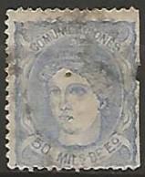 ESPAGNE / REGENCE N° 107 OBLITERE - 1870-72 Régence