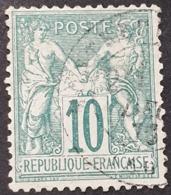 Sage  N° 65 Avec Oblitération Cachet à Date  TB - 1876-1878 Sage (Type I)