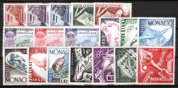Monaco 1952/54 Annata Completa / Complete Year Set **/MNH VF - Monaco