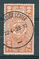 TR 159 Gestempeld (moustache) ZEEBRUGGE CENTER - 1923-1941