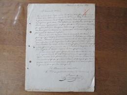 18 JUIN 1827 COURRIER DU VERIFICATEUR DES POIS ET MESURES A AVESNES SIGNE BEVENOT AU MAIRE DE FOURMIES - Manuscrits
