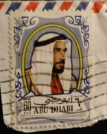 Abu Dhabi 1970 AE-AB 65 Sheikh Zayed Bin Sultan Al Nahyan Chef D'état | Hommes | Personnalités - Abu Dhabi