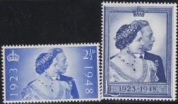 Great Britain       .   Yvert    .  237/238   .     *    .     Mint-hinged     .   /   .   Ongebruikt - 1902-1951 (Reyes)