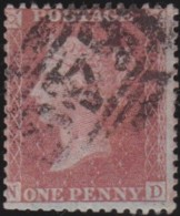 Great Britain   .   Yvert    .   14  (1855-58) Perf. 14      .     O      .    Cancelled .   /   .   Gebruikt - Used Stamps